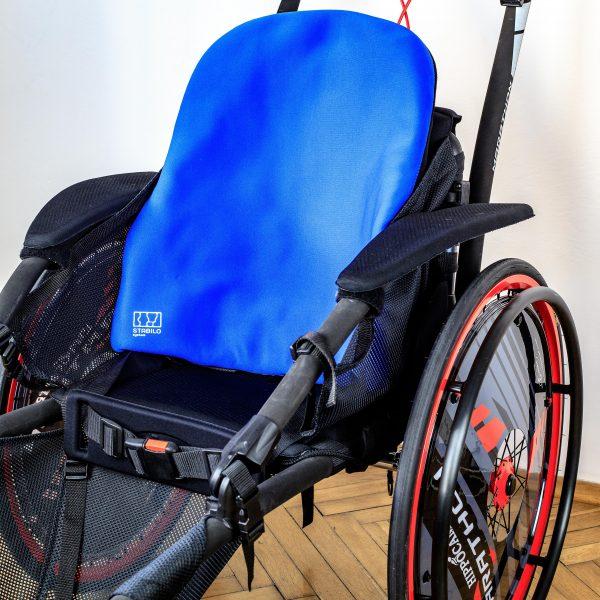 Stabilo - Confortable : Dossier, support lombaire pour fauteuil roulant