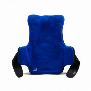 Confortable Plus : Dossier pour fauteuil roulant modelable avec supports latéraux