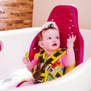 Splashy – Siège de douche pour handicapé (1 à 8 ans)