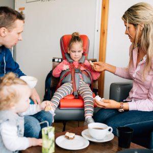 Firefly GoTo Vinyl : chaise pour enfant handicapé en Vinyl