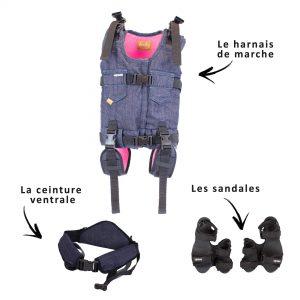 Upsee : harnais de marche handicap 1 à 8 ans